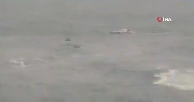 Batan gemideki can pazarı kamerada