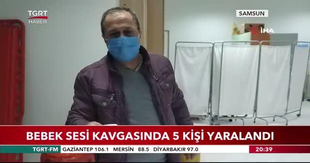 Bebek sesi kavgasında 5 kişi yaralandı