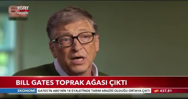 Bill Gates toprak ağası çıktı