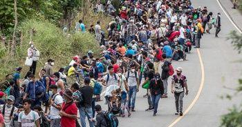 Binlerce Honduraslı ABD yolunda