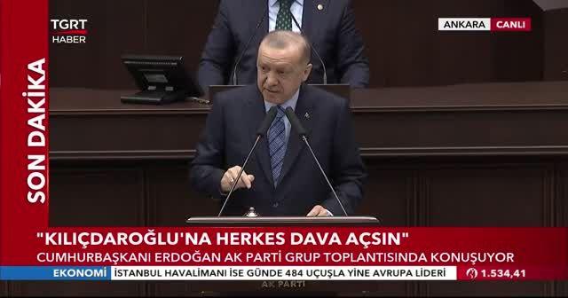 Cumhurbaşkanı Erdoğan'dan restoran ve kafelere destek ödemesi müjdesi