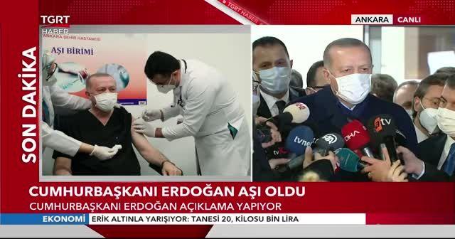 Cumhurbaşkanı Erdoğan'dan siyasilere