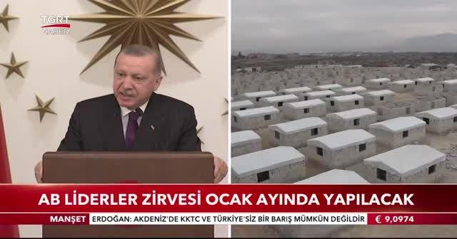 Cumhurbaşkanı Erdoğan: Türkiye Avrupa'da hak ettiği yeri almalı