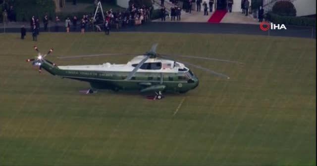 Donald Trump, Beyaz Saray'dan ayrıldı