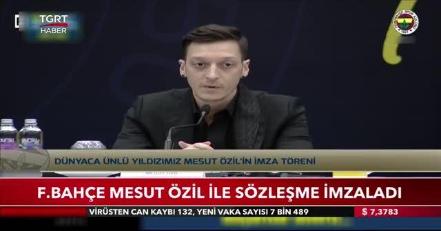 Fenerbahçe Mesut Özil ile sözleşme imzaladı