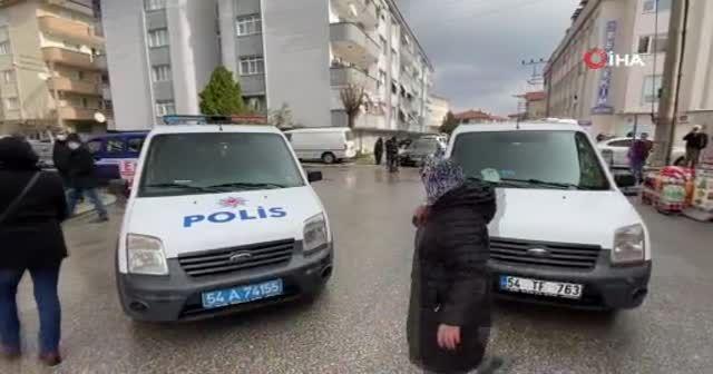 Hastane önünde silahlı dehşet