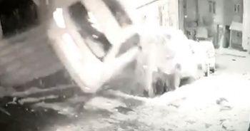 İstanbul'da film sahnelerini aratmayan kaza