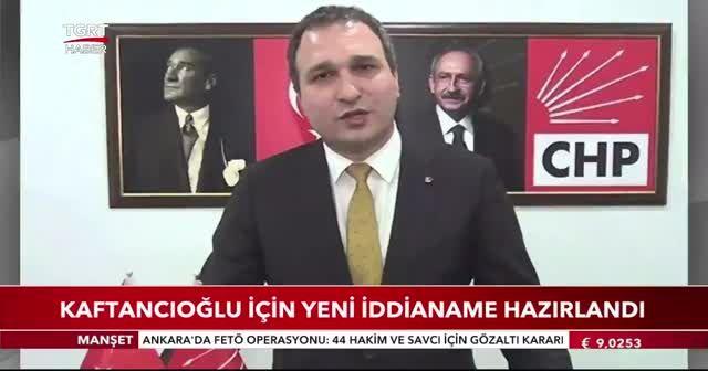 Kaftancıoğlu için yeni iddianame hazırlandı