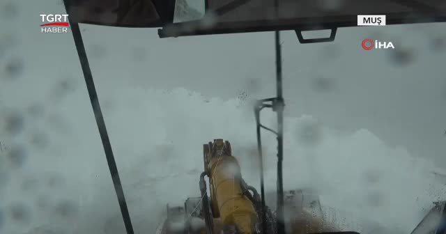Kar kalınlığı 5 metreye ulaştı