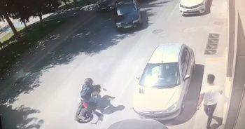 Kazada metrelerce sürüklendi