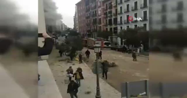 Madrid'de şiddetli patlama!