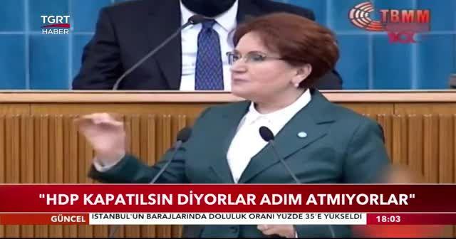 Meral Akşener: İflas eden firmalar Türkiye'nin acı gerçeği