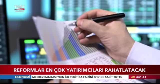 Reform taslağı Erdoğan'a sunuldu