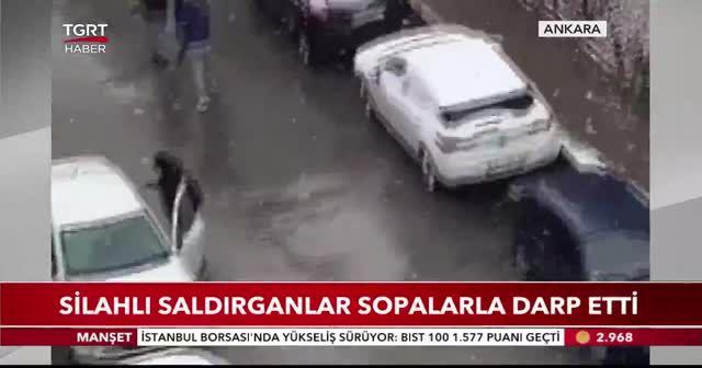 Selçuk Özdağ'a yapılan saldırı kamerada