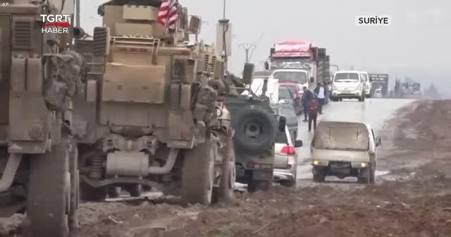 Suriye Türkiye sınırına asker yığıldı