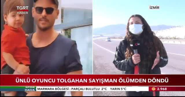 Ünlü oyuncu Tolgahan Sayışman ölümden döndü