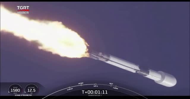 Uzaya tek seferde 143 uydu fırlattı