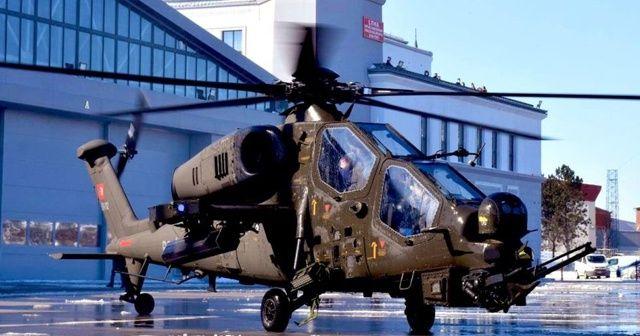 Emniyet ilk ATAK helikopterini teslim aldı
