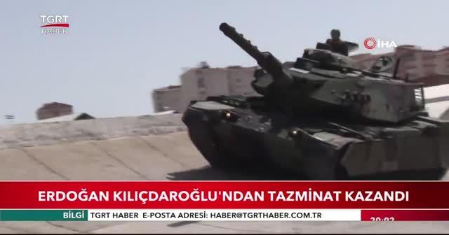 Erdoğan Kılıçdaroğlu'ndan tazminat kazandı
