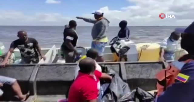 Kolombiya Donanması, Pasifik Denizi'nden 14 cansız beden çıkardı
