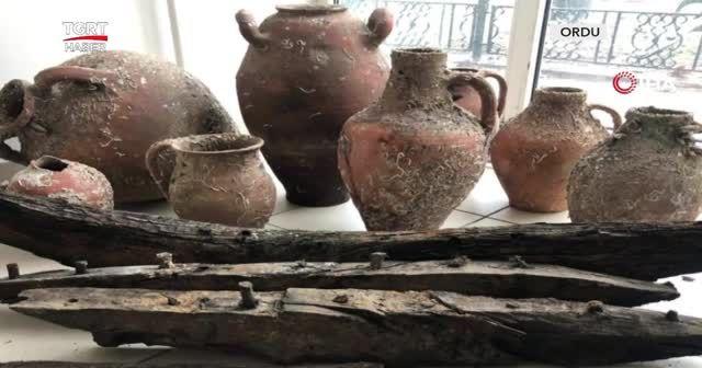 Ağlara bin yıllık amforalar takıldı