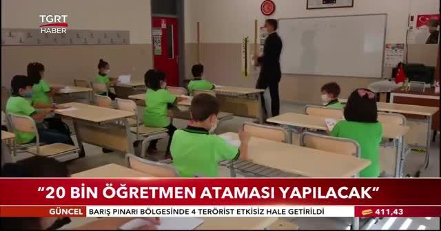 Cumhurbaşkanı Erdoğan: 20 bin öğretmen ataması yapılacak