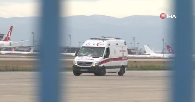 Gedson Fernandes için ambulans geldi