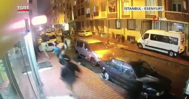 Katil zanlısı çatıda yakalandı