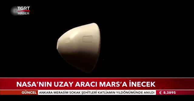 Nasa'nın uzay aracı Mars'a inecek