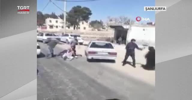 Şanlıurfa'da trafikte yol verme kavgası
