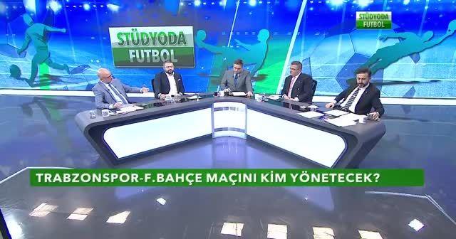 Stüdyoda Futbol zorlu mücadelenin hakemini bildi