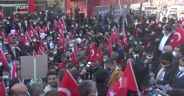 PKK'ya tepki yürüyüşüne on binler katıldı