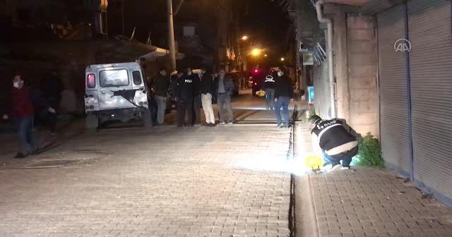 Silahlı saldırıya uğrayan bekçi yaralandı