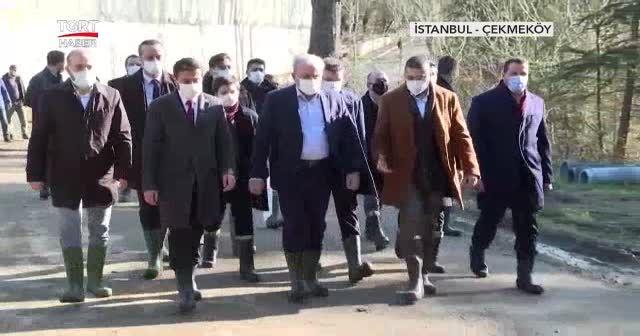 TBMM Başkanı Şentop, 'Uyanış: Büyük Selçuklu' setini ziyaret etti