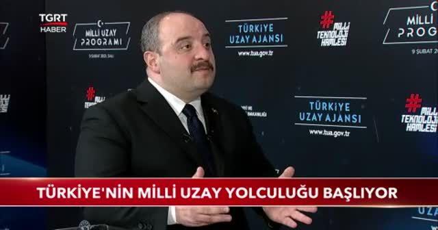 Türkiye'nin milli uzay yolculuğu başlıyor