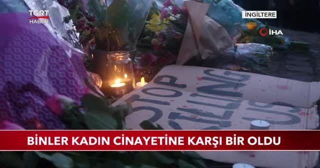 Binler kadın cinayetine karşı bir oldu
