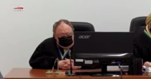 Hakim mahkemede uyuyakaldı
