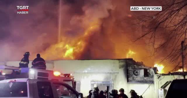 Huzurevinde yangın çıktı bir kişi öldü