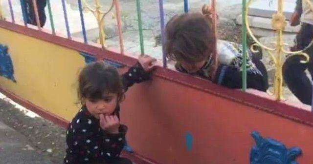Kafası korkuluğa sıkışan çocuğu itfaiye kurtardı