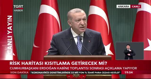 """Cumhurbaşkanı Erdoğan, """"Mevcut uygulama bir süre devam edecek."""""""