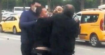 Hasan Şaş havaalanında tartıştı