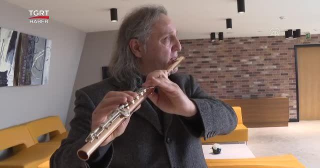 Türk flüt sanatçısına İngiltere'den ödül