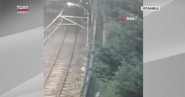 Metronun elektrik tellerini çalacaklardı