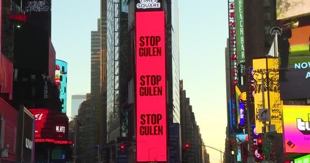 New York Times Meydanı'nda