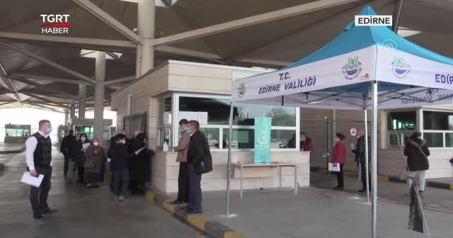 Sınır kapılarında PCR test şartı uzatıldı