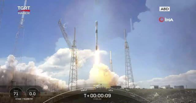60 uydu yörüngeye başarıyla fırlatıldı