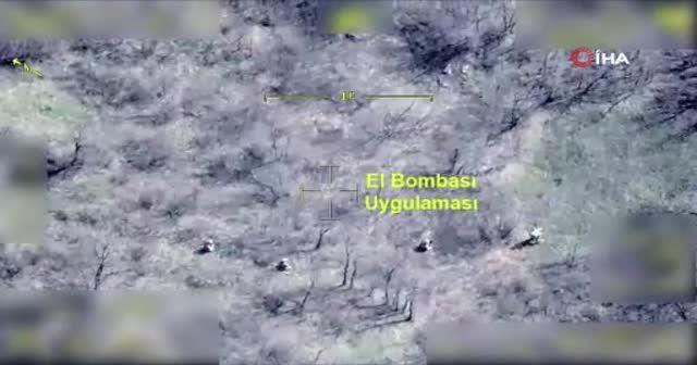 Bakan Soylu duyurmuştu; Eren- 10 Operasyonunun özel görüntüleri ortaya çıktı