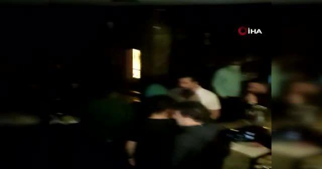 Beyoğlu'nda üstü kafe altı gece kulübüne baskın