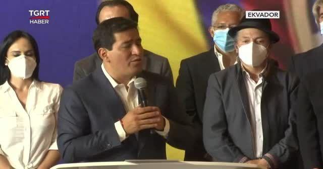 Ekvador'da sağcı aday zaferini ilan etti
