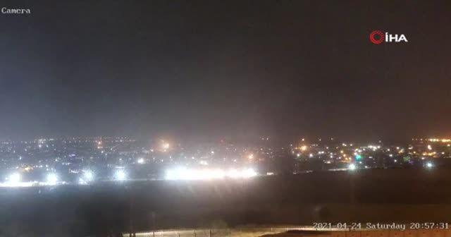 Gazze'den İsrail'e roket atıldı